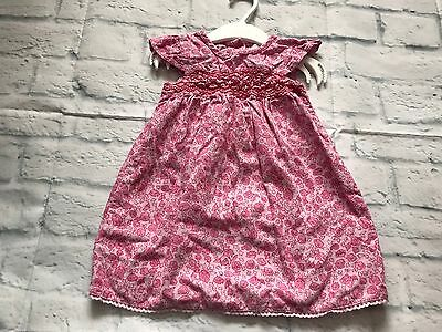 Baby Girls Clothes 9-12  Months - Pretty Girl Cord Dress
