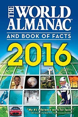 The World Almanac and Book of Facts 2016 by Janssen, Sarah