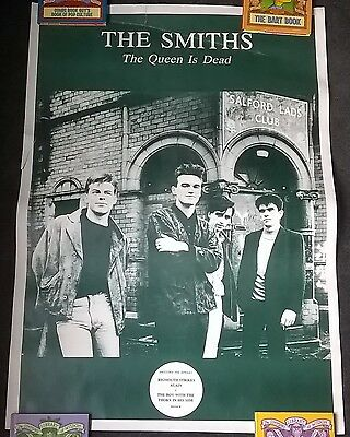The Smiths - The Queen Is Dead promo poster