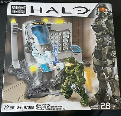 Mega Block Halo Cryo Bay [97088] NEW