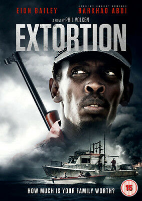 Extortion DVD (2017) Eion Bailey ***NEW***