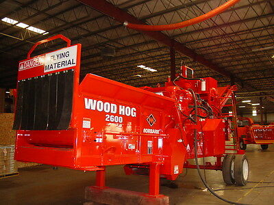 2012 Morbark 2600 Electric Wood Hog Horizontal Grinder