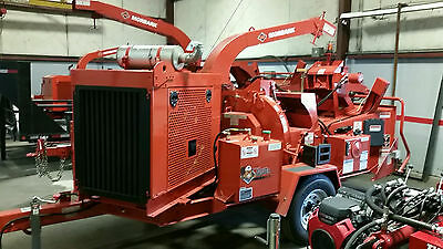 Morbark Fully Loaded Model M12D Brush Chipper; 2015 Model, 130 HP