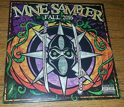 New Mne Fall 2016 Sampler Cd Twiztid Blaze The R.o.c. G-Mo Skee Lex Sealed