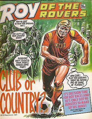 Roy of the Rovers Comic 21st March 1987 ref75