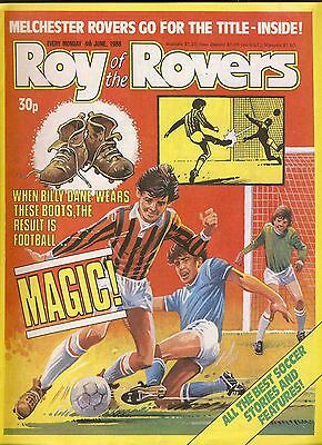 Roy of the Rovers comic 4th June 1988 ref012