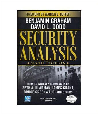 Security Analysis: Principles and Technique by Benjamin Graham, David Dodd,...