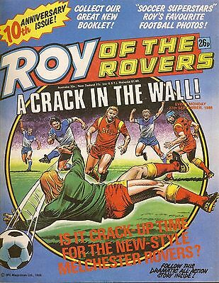 Roy of the Rovers Comic 27th September 1986 ref82