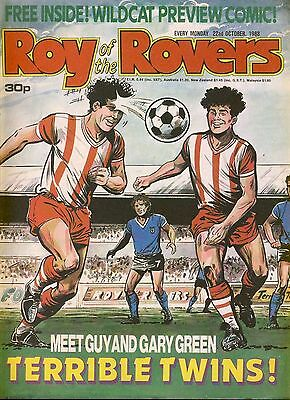 Roy of the Rovers Comic 22nd October 1988 ref69