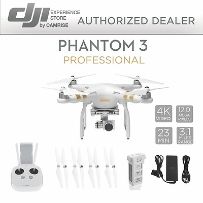 DJI Phantom 3 Professional Quadcopter Drone with 4K Camera *Refurbished*