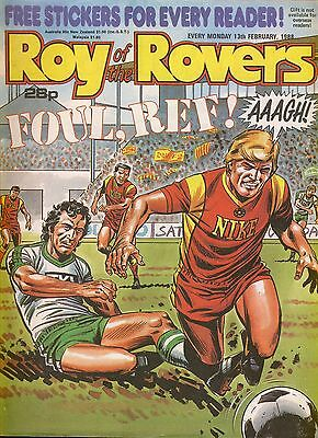 Roy of the Rovers comic 13th February 1988 ref024