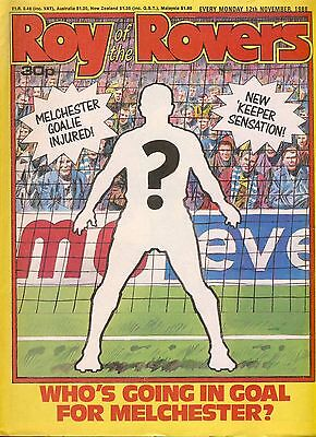 Roy of the Rovers comic 12th November 1988 ref051