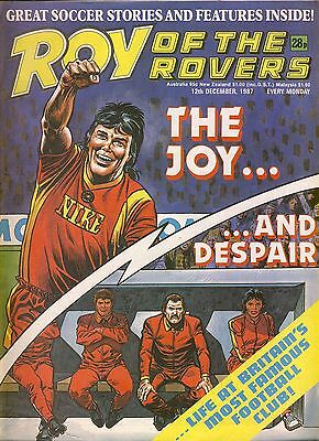 Roy of the Rovers comic 12th December 1987 ref054