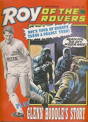 Roy of the Rovers comic 4th July 1987 Glenn Hoddle pt3 ref063