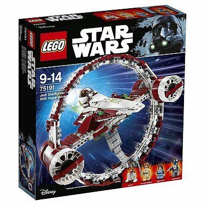 Lego Star Wars 75191 Jedi Starfighter with Hyperdrive NEU OVP