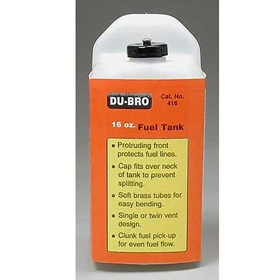 Dubro 416 S16 Square Airplane Fuel Tank 16 oz
