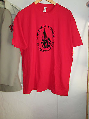 French Foreign ,Legion Etrangere 2 REP-2cie -t shirt size XL