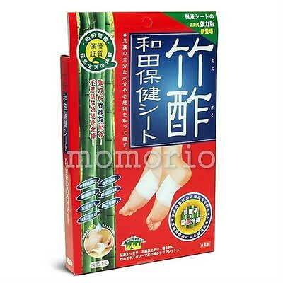 Japan Bamboo Vinegar Arm/Back/Sole Foot Detox Detoxifiying Patches-32 Pack
