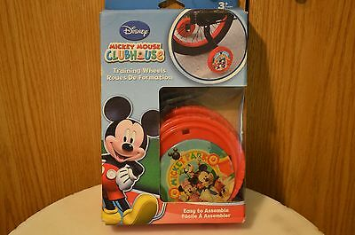 Mickey Mouse Club House bicycle training wheels Toddler Kids 12-20 inch bicycles