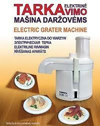 DOMESTIC ELECTRIC GRATER MACHINE/ BULVIU TARKAVIMO MASINA migiris