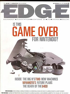 EDGE magazine Nintendo MIYAMOTO Death of 64DD May 1999 r1-9