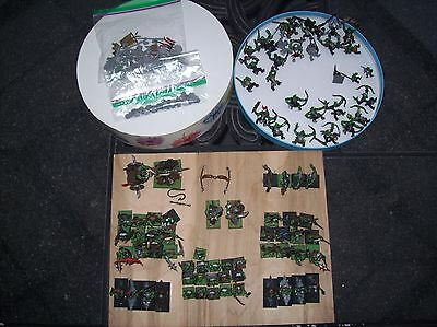 Warhammer / Age of Sigmar - Orcs and Goblins Army - 84 models + bitz