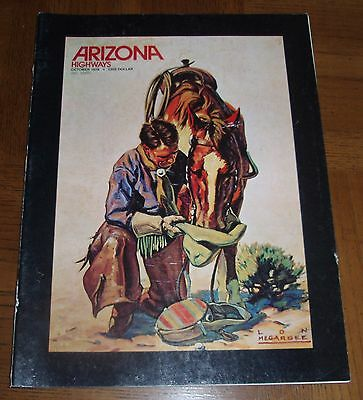 October 1976 Arizona Highways - Western Artists- Photography- Bolo Ties- Jewelry