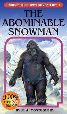 The Abominable Snowman (Choose Your Own Adventure #1) by R. A. Montgomery