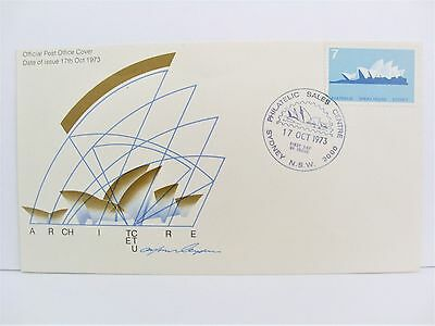 1973 Australia Sydney N.s.w Official Post Office Cover ' Architecture '