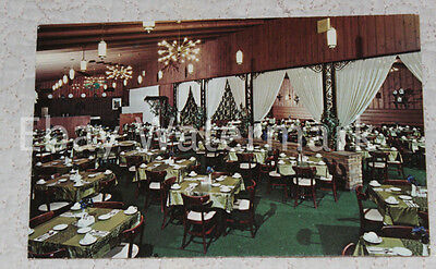 ILLINOIS IL Kankakee - Redwood Inn Restaurant Vintage Postcard