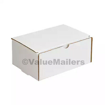 50 - 12x9x6 White Corrugated Shipping Mailer Packing Box Boxes