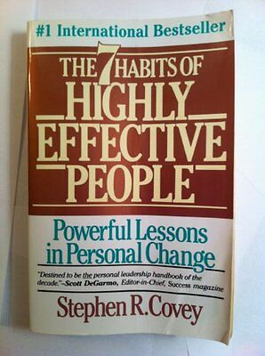 Seven Habits of Highly Effective People by Stephen Covey