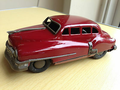 Vintage 1960's Japan Tinplate Friction Powered Toy Car