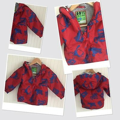 Next Baby Boys Summer Hooded Raincoat 18-24 Months