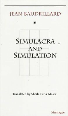 Simulacra and Simulation by Jean Baudrillard 9780472065219 (Paperback, 1994)