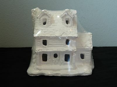 Creative Crafts California Creations SE173 Ponderosa House Unpainted Village