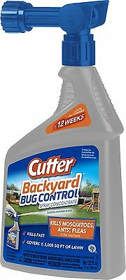 Cutter Backyard Bug Control Spray Concentrate (HG-61067) (32 fl oz) 1 Pack NEW