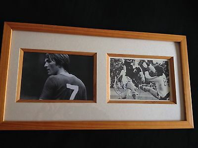 Kenny Dalglish Hand Signed Photo Liverpool Framed