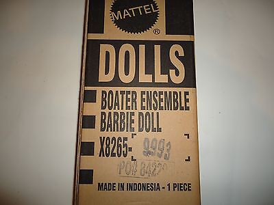 2013 Barbie BFC Boater Ensemble Silk Stone Doll. Limited Edition. In Shipper