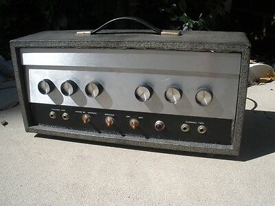 Vintage 1966 Silvertone Model 1483 Tube Amp Head - Serviced and Ready to Rock!