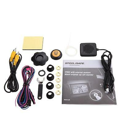 Car Tire Pressure Monitoring System TPMS for Video Output to A/V Monitor Z3K6