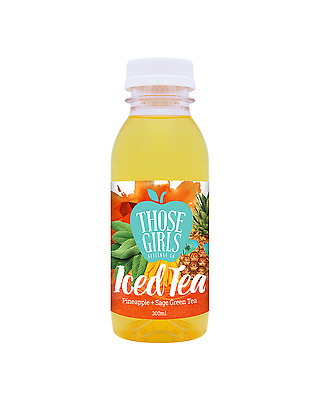 Those Girls Beverage Co. Iced Tea 300mL case of 12 Fruit Juice