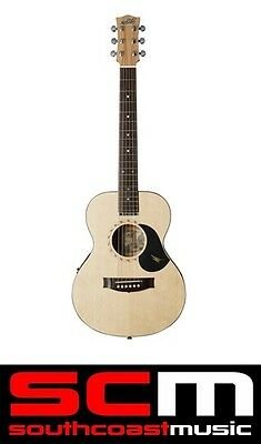 Maton Mini Em-6 Solid Acoustic Electric Guitar With Hard Case Ap5 Upgraded!