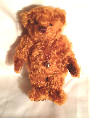 Deans Jacques Limited Edition curly brown mohair jointed bear