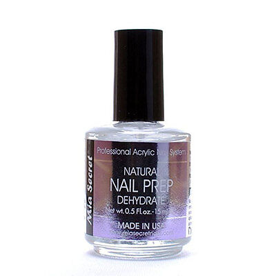 Mia Secret NAIL PREP To Dehydrate Natural Nail 0.5oz /15ml (NP-30)