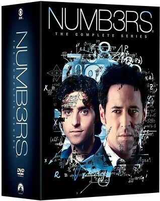 Numbers: The Complete Series [New DVD] Boxed Set, Slipsleeve Packaging, Subtit