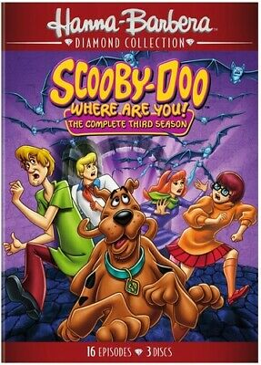 Scooby-Doo, Where Are You!: The Complete Third Season [New DVD] 3 Pack, Amaray