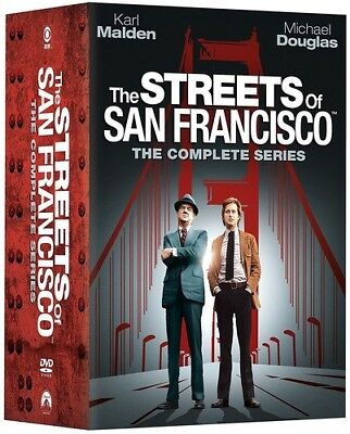 The Streets of San Francisco: The Complete Series [New DVD] Full Frame, Slipsl