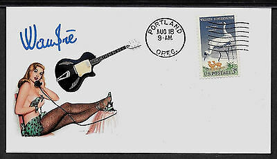 1960 Wandre Tri-Lam & Pin Up Girl Featured on Collector's Envelope *A381