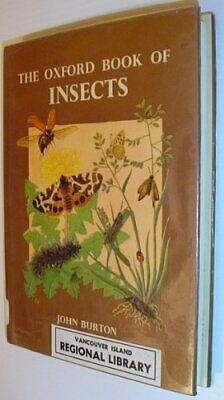 Oxford Book of Insects by etc. Hardback Book The Cheap Fast Free Post